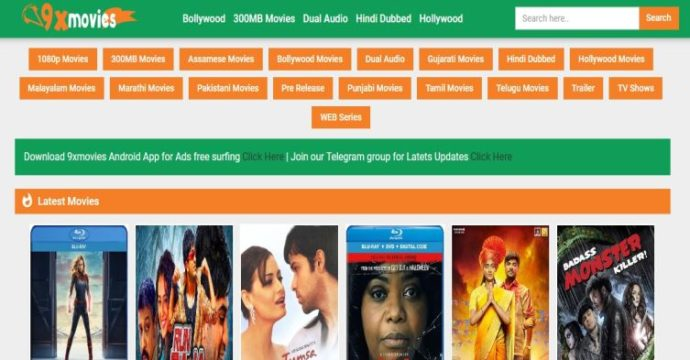 9xmovies 2020 Download Bollywood Hollywood Tamil Hindi Dubbed Movies In