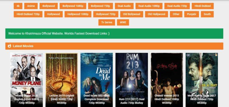Khatrimaza 2021 HD Movies Download Free KhatrimazaFull Bollywood South HD